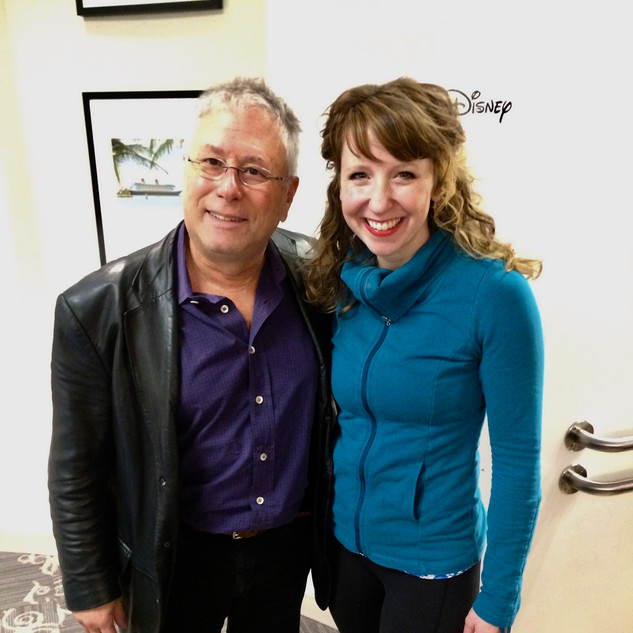 Alan Menken and Me!
