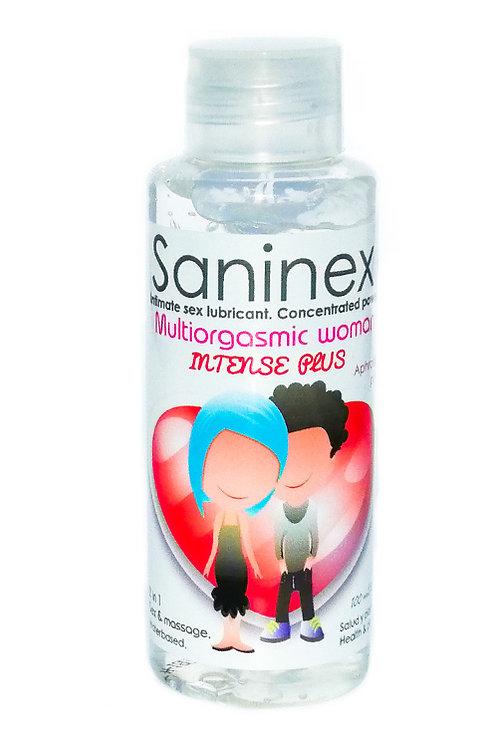 SANINEX  MULTIORGASMIC  WOMAN   INTENSE  PLUS  100ML
