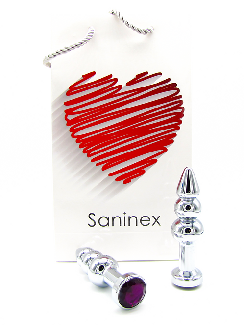 SANINEX PLUG METAL 3D COMMITED DIAMOND.   Health & pleasure Saninex.