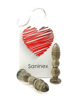 SANINEX DELIGHT  BLACK TRANSPARENT