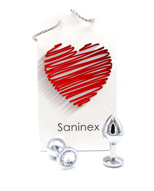 SANINEX PLUG METAL DIRECT PLEASURE DIAMOND 8984686 903836