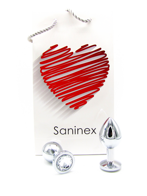 SANINEX  PLUG METAL DIRECT PLEASURE DIAMOND.  Health & pleasure Saninex.