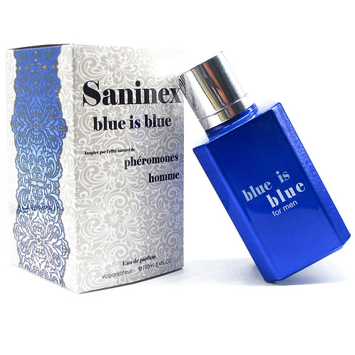 SANINEX BLUE IS BLUE.