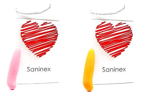 SANINEX MINI VIBRADOR MULTI EXCITING WOMAN. Health & pleasure Saninex.  