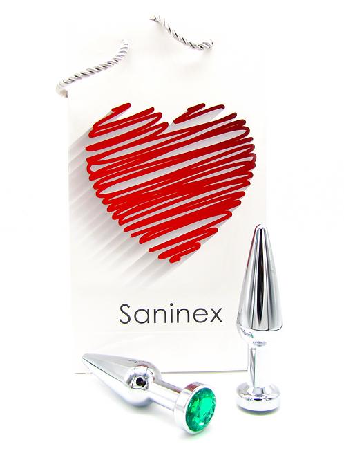 SANINEX PLUG METAL INTENSE ORGASMIC DIAMOND.   Health & pleasure Saninex.