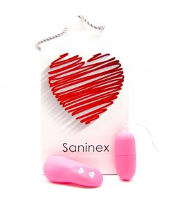 Saninex. Vibrator EGG wireless. Pink colour 8984686 903928