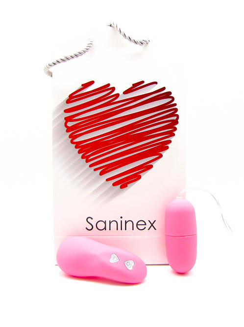 SANINEX  VIBRATOR EGG WIRELESS.  Pink colour.    Health & pleasure Saninex.