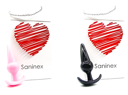 SANINEX PLUG INITIATION ORGASMIC ANAL SEX unisex - Basic line.