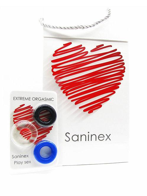 SANINEX ANILLOS EXTREME ORGASMIC - Basic line. Health & pleasure Saninex.  