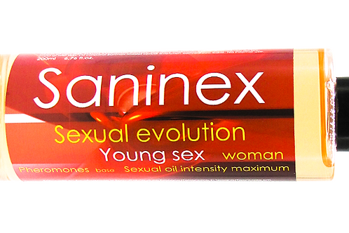 Sexual evolution oil. Young sex Woman  200 ml. PHEROMONE base.