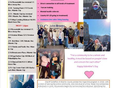 February Hope One Newsletter