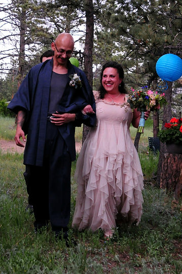 Freddie & Aliya at our wedding 6/21/14