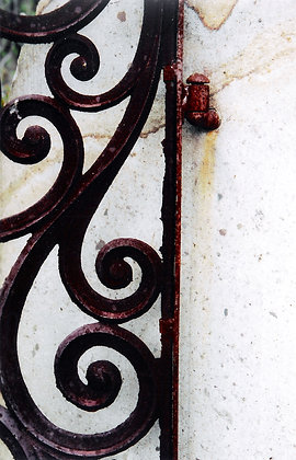 Wrought Iron Swirl