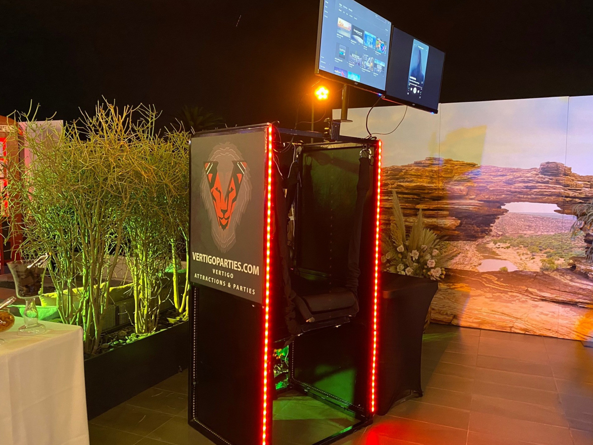 1 VR Booth - Booking $800