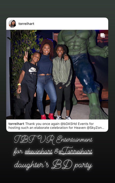 Kevin Hart's Daughter Party