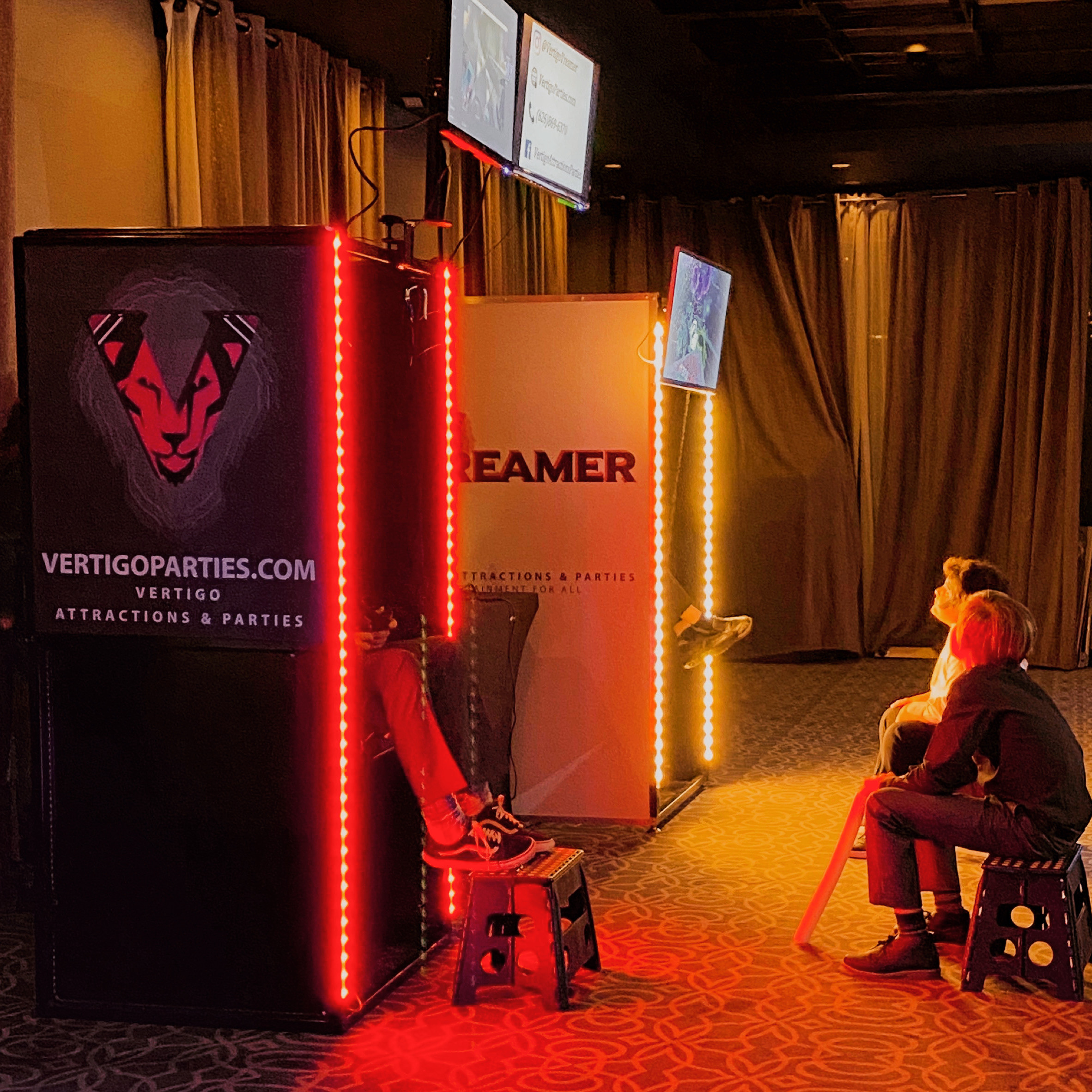 2 VR Booths - Booking $1,500