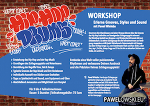 Hip Hop Drums Workshop