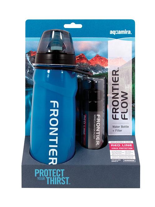 Frontier Flow Water Bottle (Red Line)