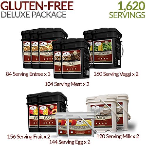 1620 Serving Gluten-Free Deluxe Bundle
