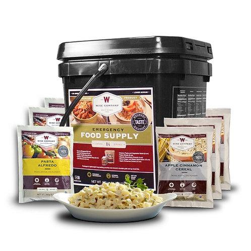Breakfast and Entree Bucket - 84 Servings