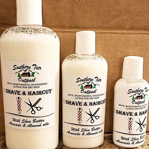 Shave & Haircut Lotion