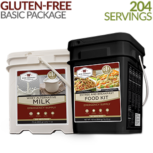 204 Serving Gluten-Free Basic Bundle
