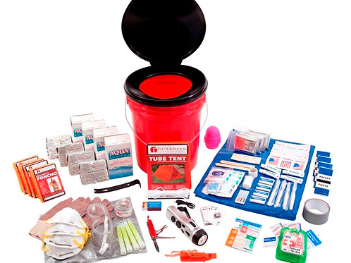 4 Person Bucket Survival Kit