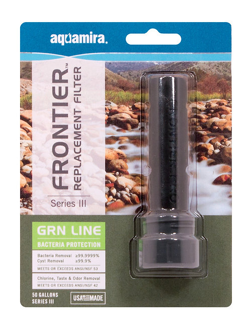 Frontier Pro GRN Series III Replacement Filter