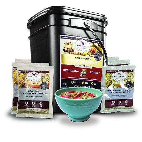 Breakfast Bucket - 120 Servings
