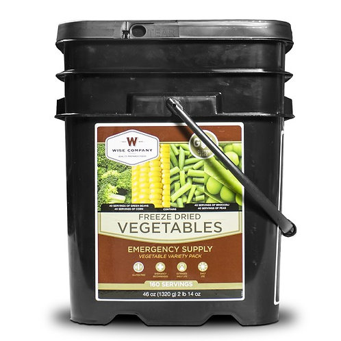 160 Serving Gluten-Free VeggieBucket