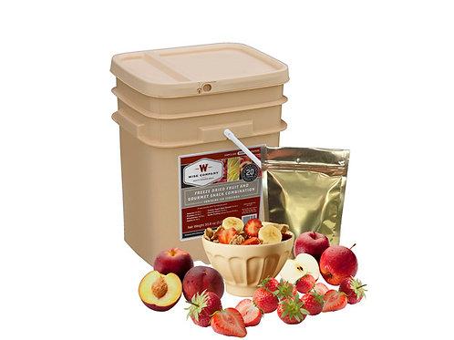 120 serving Fruit & Snack Bucket