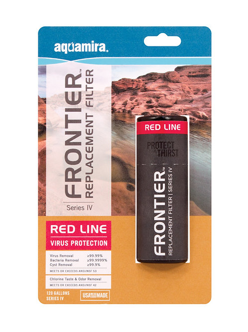 Frontier RED Series IV Replacement Filter