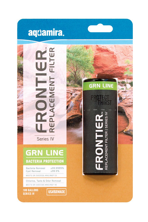 Frontier GRN Series IV Replacement Filter