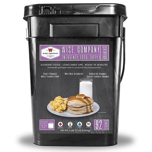 Breakfast Bucket - 92 Servings