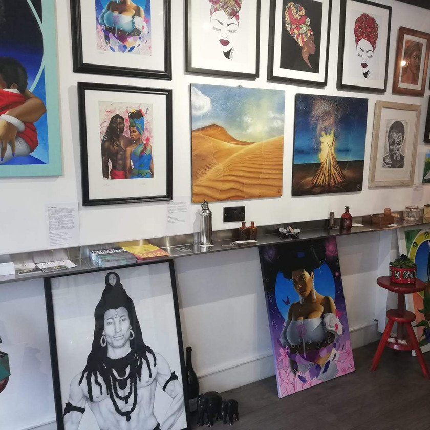 Art Exhibition by Dee Lawrence