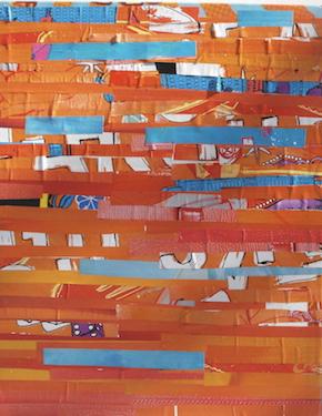 Movement in Orange  (Sold)