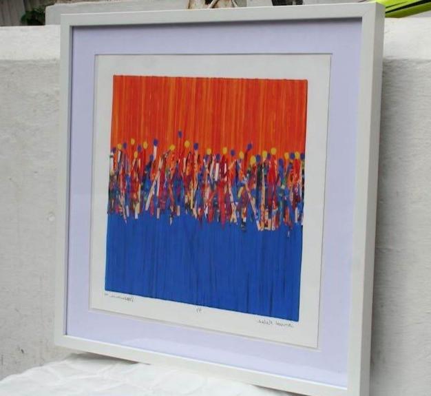 Carnival Sun Dance - Giclee Print only