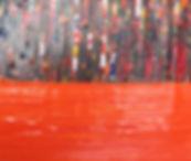 Art called Carnival%20in%20Orange%20100x30cm%20buy%