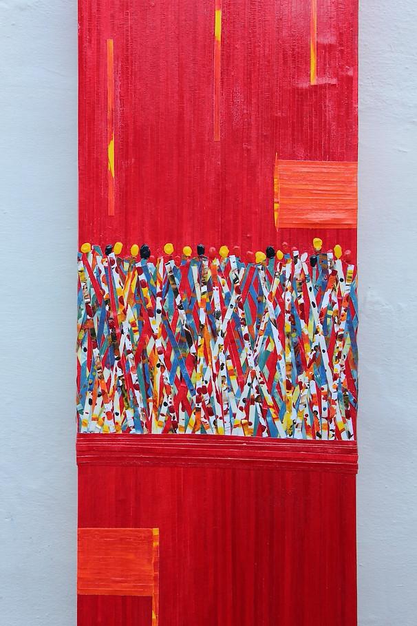 Carnival In Red - 100x30cm .jpeg