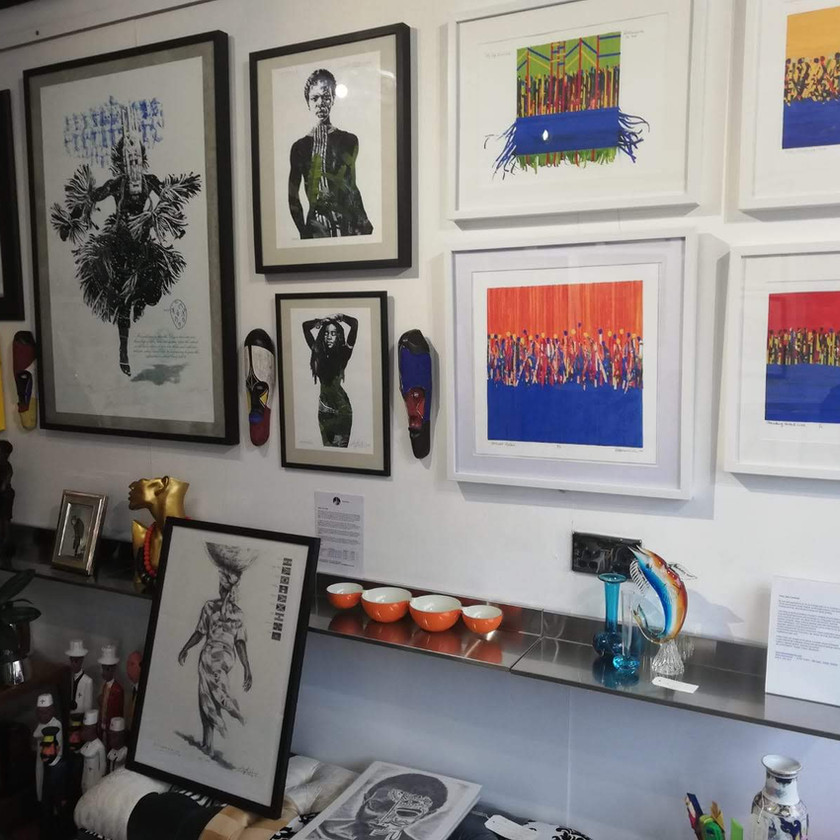 Art Exhibition by Dee Lawrence - Art and Patterns.com
