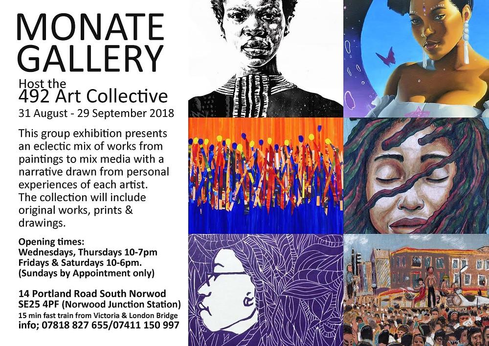 492 art collective Exhibition