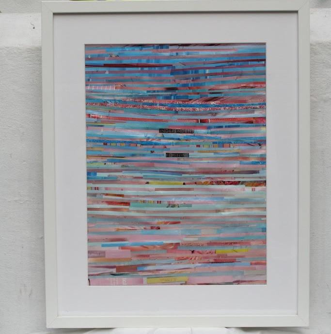 Independent Feminine - Framed Collage (Sold)