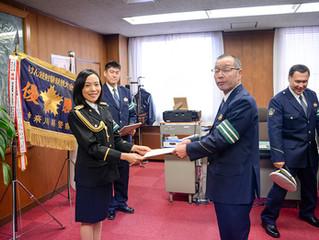 2017MUJ神奈川 準グランプリ八田幸子さんが厚木警察署1日署長に!