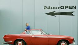 Kees Kuiper/Volvo P1800 uit 1964