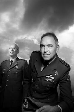 Lt. Kol. Leon Punt / Kol.Paul Bomer