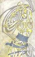 woman, tekening, drawing, pose,  illustratie, illustration