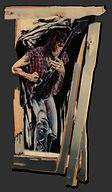 Neil Young, schilderij, kunst, Drie dimensionaal, Acryl op hout, Art, 3D, Three Dimensional, acrylic on wood, art, kunstenaar, artist