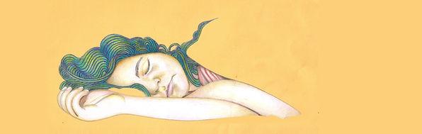 brenda sleeping, Brenda slapend, tekening, drawing, illustratie