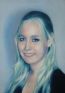 Schilderij, portret, acrylverf op doek, Portrait, Painting, Acrylic on Canvas, art, kunst, kunstenaar, artist