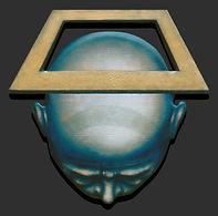holy man, square man, kunst, Drie dimensionaal, Acryl op hout, Art, 3D, Three Dimensional, acrylic on wood, art, kunstenaar, artist